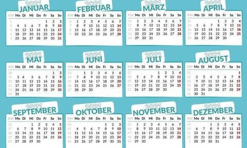 Αργίες 2021: Πότε έχουμε Πάσχα, Καθαρά Δευτέρα και Αγίου Πνεύματος