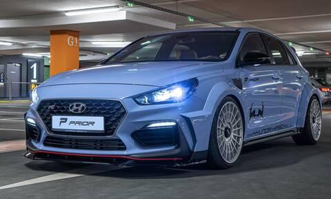 To Hyundai i30 Ν της Prior Design δείχνει έτοιμο για το WRC