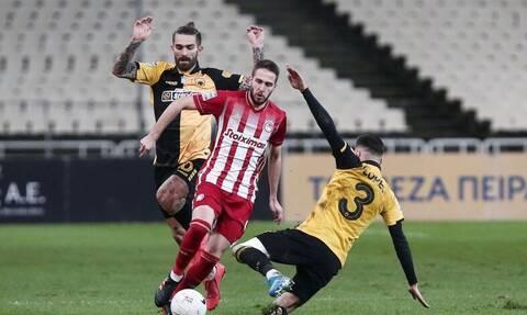 Ολυμπιακός - ΑΕΚ LIVE: Το ντέρμπι στο «Γεώργιος Καραϊσκάκης» για τη Super League