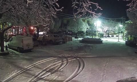 Καιρός: Χιόνια σε Γρεβενά και Μέτσοβο – Πού αλλού θα χιονίσει σήμερα