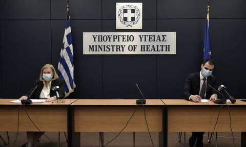 Κορονοϊός – LIVE η ενημέρωση του υπουργείο Υγείας για την πανδημία και τον εμβολιασμό