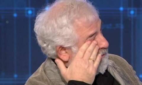 Πέτρος Φιλιππίδης: Ξέσπασε σε κλάματα στον αέρα του «Ενώπιος Ενωπίω»