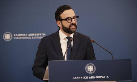 Ταραντίλης:Λυπάμαι που η πρώτη μου ανακοίνωση ως κυβερνητικού εκπροσώπου αφορά ανάρτηση του κ.Τσίπρα
