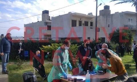 Κορονοϊός: Ανησυχία για τα θετικά rapid tests στη Σητεία