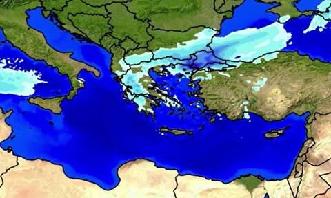 Καιρός - Προειδοποίηση Μαρουσάκη: Έρχονται δύο ψυχρά κύματα - Πότε θα χιονίσει