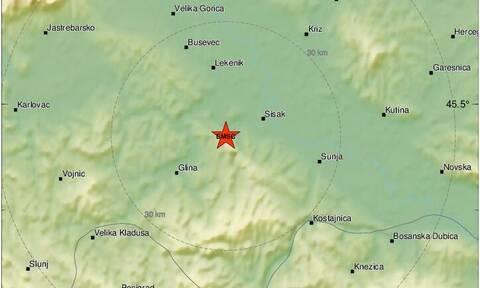 Νέος ισχυρός σεισμός στην Κροατία
