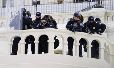 Ουάσιγκτον: Στρατιώτες της Εθνικής Φρουράς στο Καπιτώλιο
