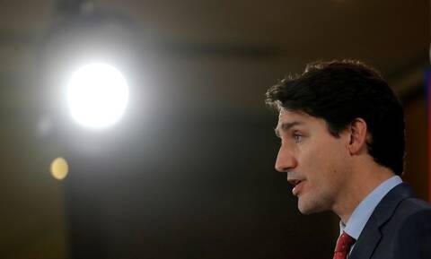 Καναδάς: Ανήσυχος ο Τριντό για τη βία στην Ουάσινγκτον