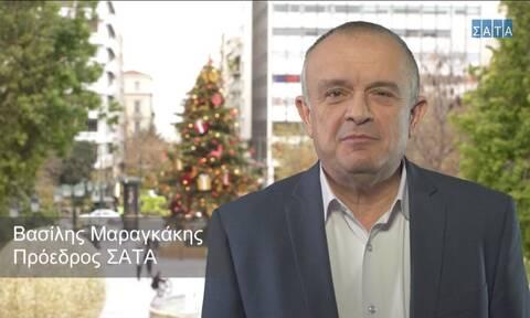 Μαραγκάκης – πρόεδρος ΣΑΤΑ στον Alpha 98,9: Η δουλειά μας έχει πέσει 90%
