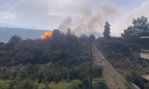 Κρήτη - Σοκαριστικό βίντεο: Η στιγμή της έκρηξης φιάλης υγραερίου