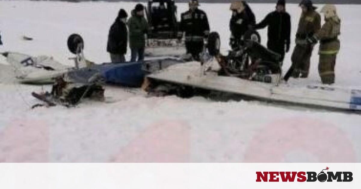 Συντριβή αεροσκάφους κοντά στην Αγία Πετρούπολη – Newsbomb – Ειδησεις