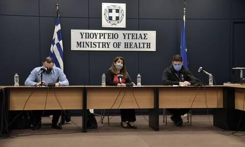 Κορονοϊός: Δείτε LIVE την ενημέρωση του υπουργείου Υγείας για την εξέλιξη της πανδημίας
