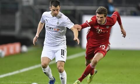 Bundesliga: Η Γκλάντμπαχ έριξε στο... καναβάτσο την Μπάγερν! - Τα γκολ της επικής ανατροπής
