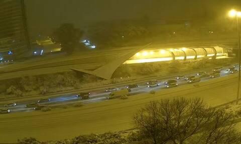 Ισπανία: Σαρώνει η «Φιλομένα» με σφοδρές χιονοπτώσεις και πολικό ψύχος - Δείτε LIVE