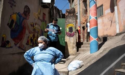 Κορονοϊός – Βραζιλία: 1.171 θάνατοι και 62.290 νέα κρούσματα το τελευταίο 24ωρο