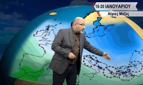 Καιρός - Αρναούτογλου: Προσεχώς η... ανασύνταξη του χειμώνα! Πού θα χιονίσει;