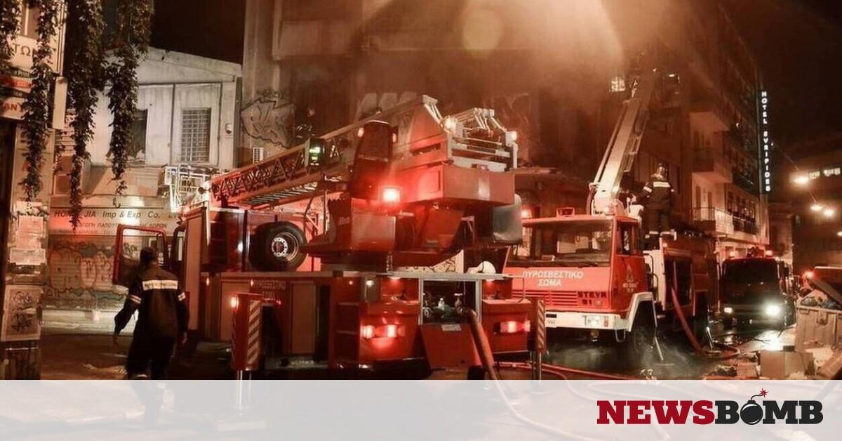 Φωτιά: Στις φλόγες διαμέρισμα στο Ηράκλειο Αττικής – Newsbomb – Ειδησεις