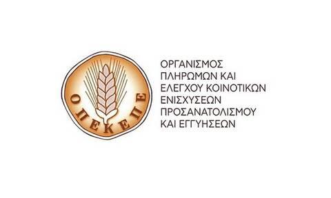 ΟΠΕΚΕΠΕ: Πληρωμές ύψους 7 εκατ. ευρώ σε δεκάδες δικαιούχους (pics)