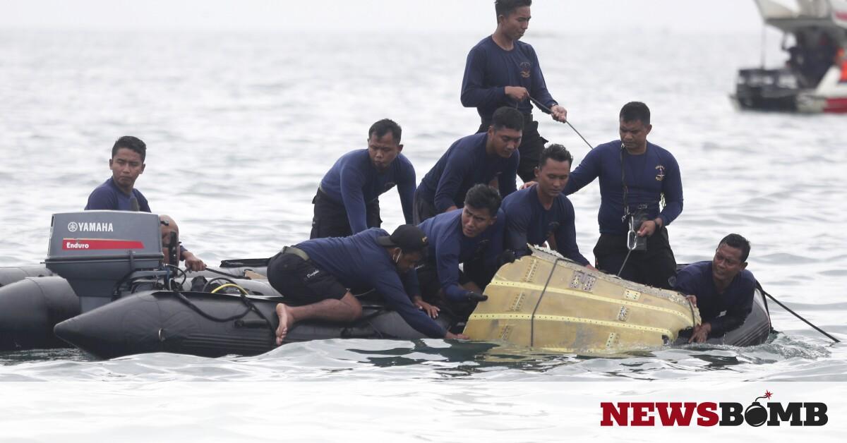 Ινδονησία: Τα πρώτα υποβρύχια πλάνα από τα συντρίμμια του Boeing 737-500 που συνετρίβη – Newsbomb – Ειδησεις