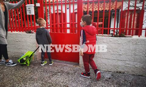 Σχολεία: «Χτύπησε» το κουδούνι σε δημοτικά και νηπιαγωγεία μετά από δύο μήνες (pics)