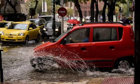 Έκτακτο δελτίο επιδείνωσης του καιρού: Έρχονται ισχυρές βροχές, καταιγίδες και χαλαζοπτώσεις