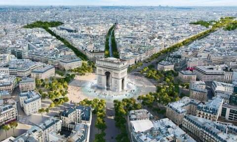 Αλλάζει «πρόσωπο» η Σανζ Ελιζέ στο Παρίσι – Εντυπωσιακές εικόνες