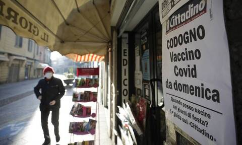 Κορoνοϊός - Ιταλία:  Στους 448 οι νεκροί - Πάνω από 12.000 τα νέα κρούσματα
