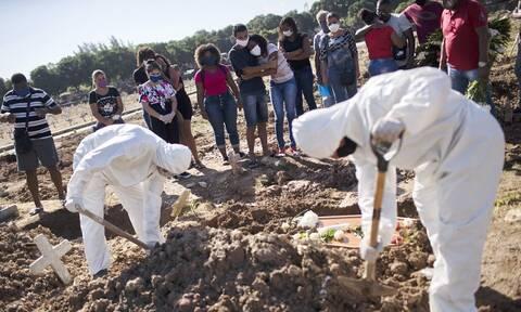 Κορονοϊός στη Βραζιλία: 25.822 κρούσματα και 480 θάνατοι το τελευταίο 24ωρο