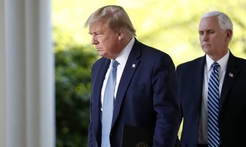 ΗΠΑ: Η πρώτη συνάντηση Τραμπ και Πενς μετά τα γεγονότα στο Καπιτώλιο
