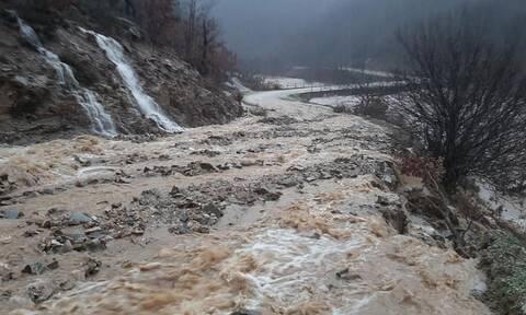 Κακοκαιρία: «Άνοιξαν» οι ουρανοί στη Ροδόπη - Πλημμύρισαν σπίτια, χείμαρροι οι δρόμοι (pics)