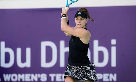 Τένις: Δεν τα κατάφερε η Σάκκαρη - Ήττα στα ημιτελικά στο Άμπου Ντάμπι