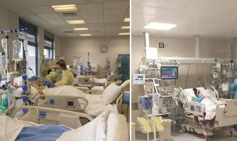 Κύπρος: Σοκάρουν εικόνες από τους ασθενείς με κορωνοϊό στις εντατικές (pics)