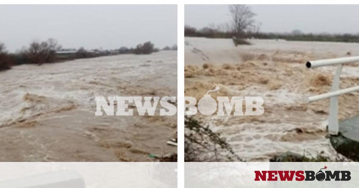 Η κακοκαιρία σαρώνει τον Έβρο: Αποκλεισμένα χωριά και εγκλωβισμοί (pics&vid) – Newsbomb – Ειδησεις