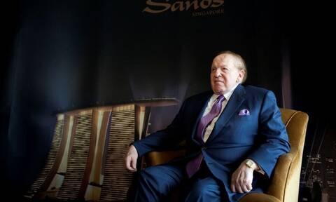 ΗΠΑ: Πέθανε ο μεγιστάνας των καζίνο Σέλντον Άντελσον
