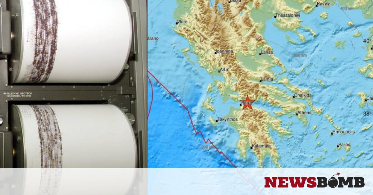 Διπλός σεισμός μεταξύ Αιγίου και Ναυπάκτου – Αισθητός σε πολλές περιοχές (pics) – Newsbomb – Ειδησεις