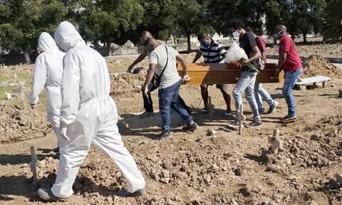 «Θερίζει» τη Βραζιλία ο κορονοϊός: 64.025 κρούσματα και 1.110 θάνατοι το τελευταίο 24ωρο