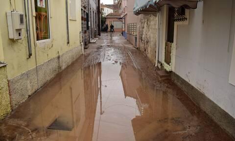 Κακοκαιρία: Σε εγρήγορση η Δυτική Μυτιλήνη - Πλημμύρισαν σπίτια σε Ερεσό και Σκουτάρο
