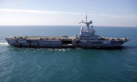 Γαλλία: Το θηριώδες αεροπλανοφόρο «Σαρλ ντε Γκωλ» έρχεται στην ανατολική Μεσόγειο