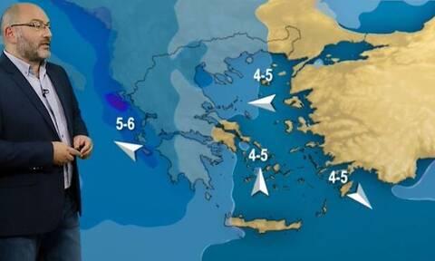 Καιρός: Προειδοποίηση Αρναούτογλου για το Σαββατοκύριακο, όλα ανοικτά για ισχυρές χιονοπτώσεις