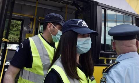 Μάσκες και γάντια δωρίζει η Γερμανία στην Ελληνική Αστυνομία