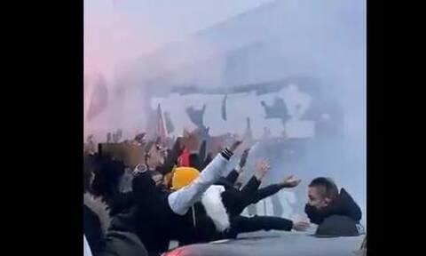 Γαλλία: Κανένα lockdown! Χαμός από τους οπαδούς της Παρί Σεν Ζερμέν (video)