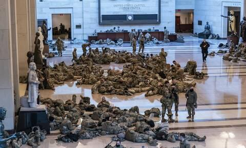 ΗΠΑ: Η Εθνοφρουρά παρακολουθεί στενά όλο το 24ωρο το Καπιτώλιο