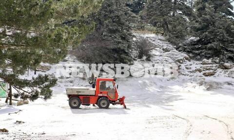 Έκτακτο δελτίο επικίνδυνων καιρικών φαινομένων: Χιόνια, θυελλώδεις άνεμοι και παγετός
