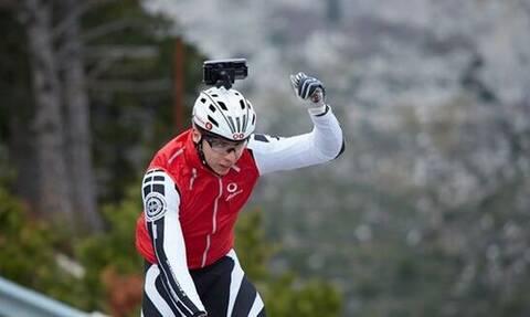 Χρήστος Σανδαλάκης: Ο ποδηλάτης με απώλεια όρασης που μας απέδειξε πως οι δυνατότητες δεν έχουν όρια