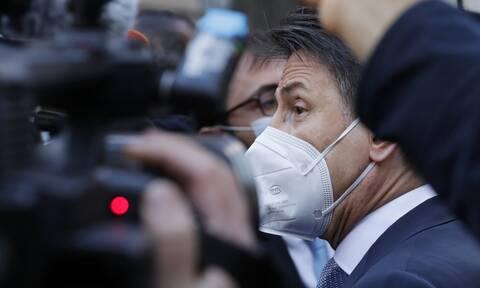 Πολιτική κρίση στην Ιταλία: Συνάντηση Τζουζέπε Κόντε με τον πρόεδρο της Δημοκρατίας Ματαρέλα