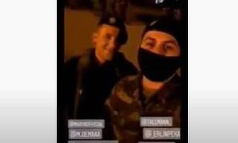 Αναβρασμός στο Στρατό: Βίντεο φέρεται να δείχνει Αλβανούς να δίνουν παραγγέλματα σε Έλληνες