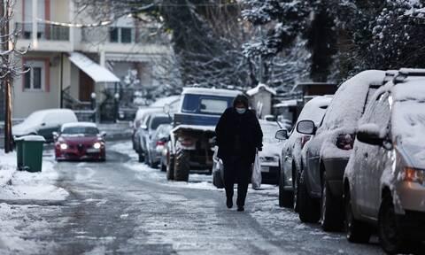 Κακοκαιρία Λέανδρος: Χαμηλές θερμοκρασίες και παγετός - Πού θα χιονίσει τις επόμενες ώρες