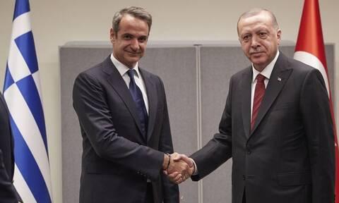 Ερντογάν: Μπορούμε να συναντηθούμε με τον Μητσοτάκη