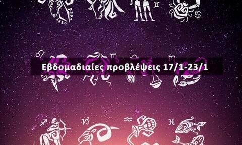 Εβδομαδιαίες προβλέψεις από 17/01 έως 23/01 σε 20 δευτερόλεπτα!