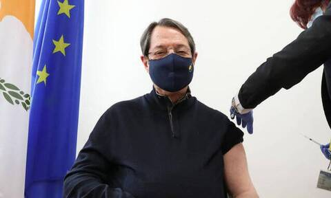 Κύπρος: Την δεύτερη δόση του εμβολίου κατά του κορωνοϊού θα κάνει ο Νίκος Αναστασιάδης